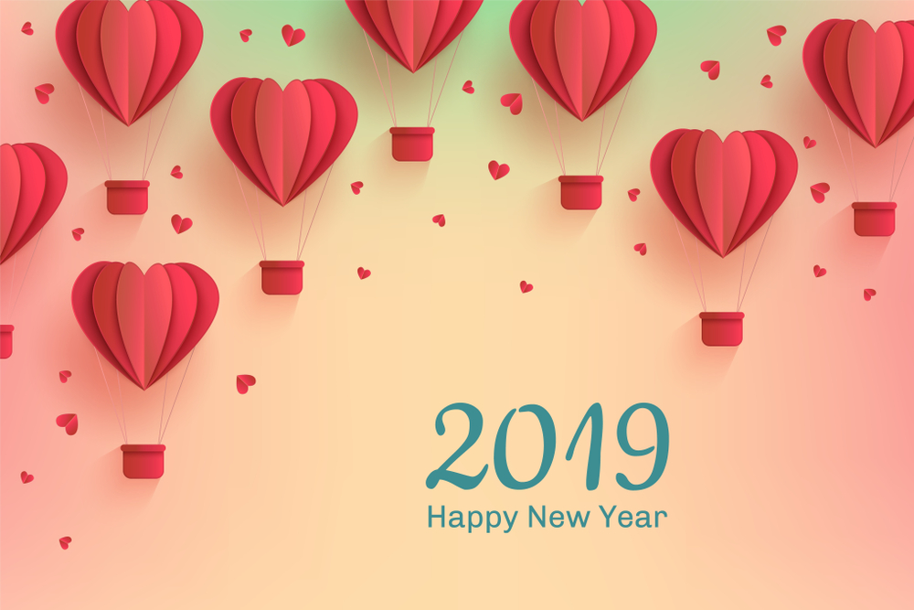 Advance Happy New Year Greeting Cards