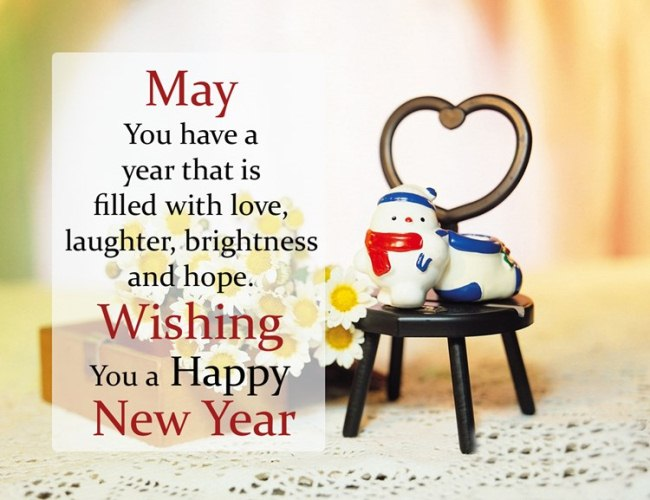Happy New Year Wallpapers for Husband