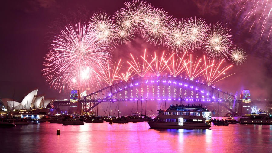 Top Best Places to See Happy New Year Fireworks 2021