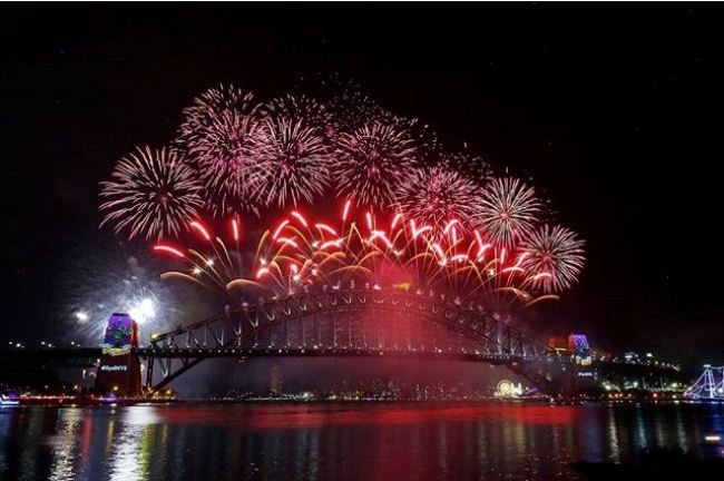 New Years Eve Fireworks Images
