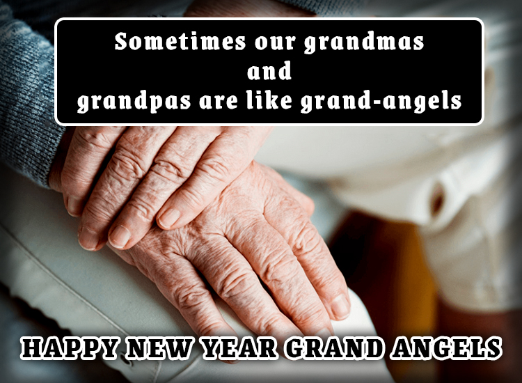 Happy New Year Messages and Wishes for Grandparents