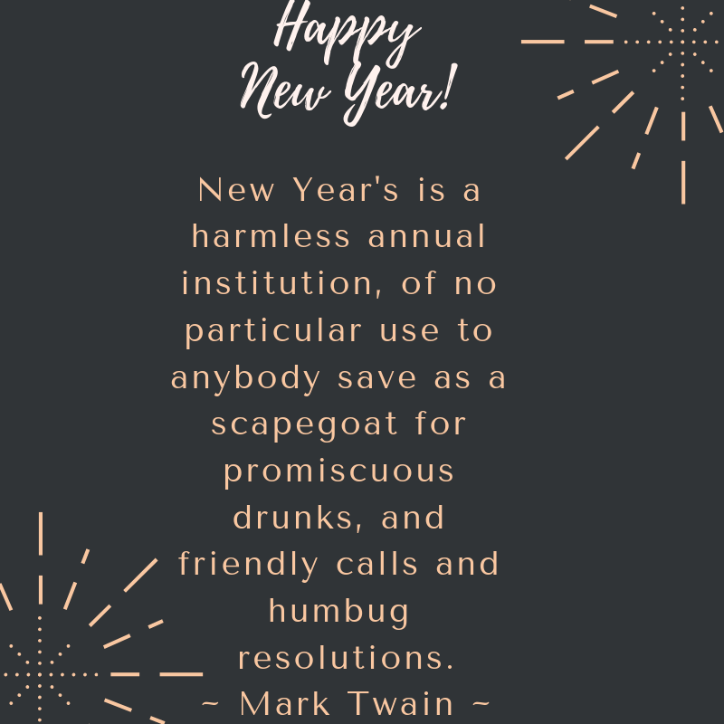 New Year Funny Resolution Quotes