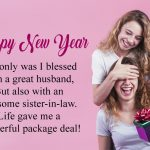 Happy New Year Wishes and Messages for Sister in Law
